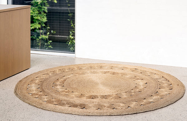Armadillo & Co Dandelion Natural Rug