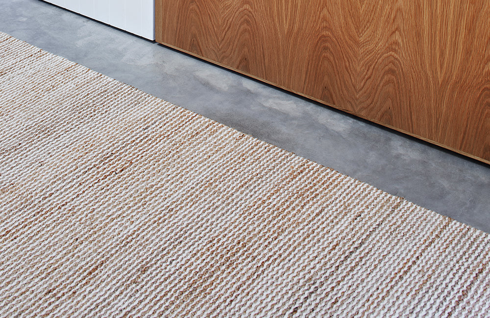 Armadillo & Co Drift Natural & White Rug