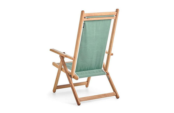 Basil Bangs Sage Monte Deck Chair
