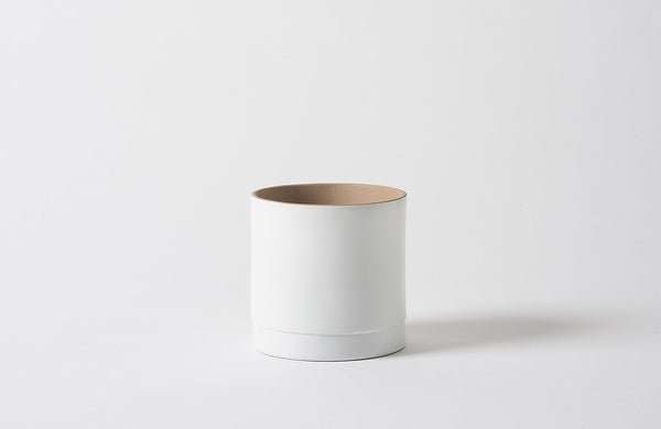 Citta Matte White Grow Plant Pot