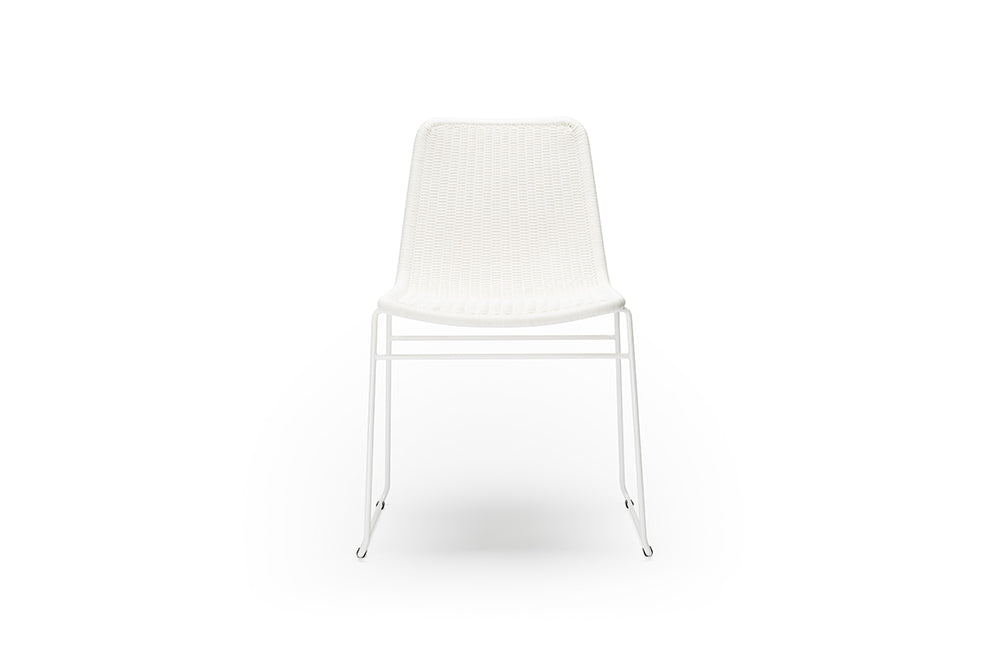 Feelgood Designs White C607 Outdoor Chair