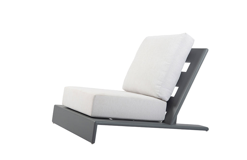 Kira & Kira Collection Halcyon Outdoor Charcoal One Seater