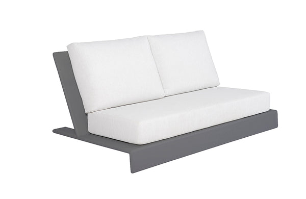 Kira & Kira Collection Halcyon Outdoor Charcoal Two Seater