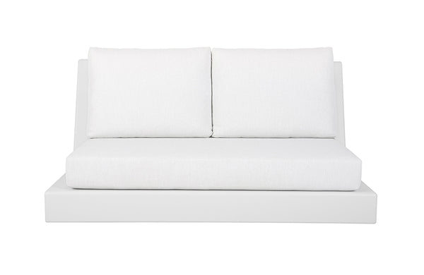 Kira & Kira Collection Halcyon Outdoor White Two Seater