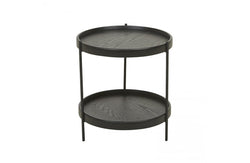 Sketch Black Humla End Table