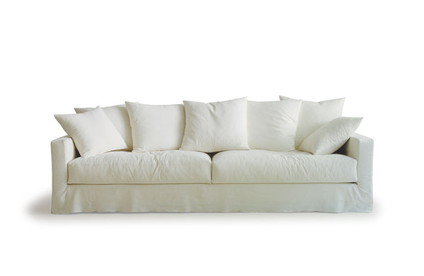 Sketch Sloopy Sofa 3.5 Seater / Summer Ivory Fabric