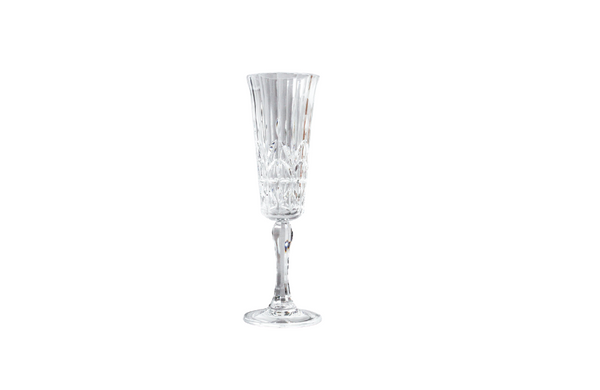 Pavilion Acrylic Champagne Flute | Clear