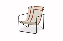 Desert Lounge Chair Black & Shape