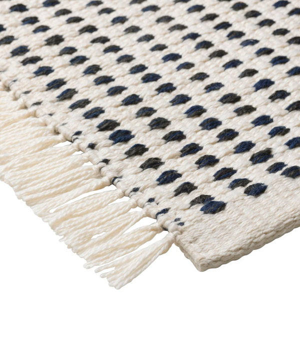 Way Rug - Off White/Blue