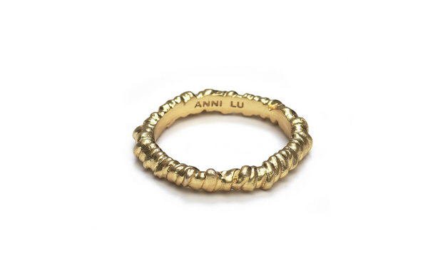 Seaweed Ring - Gold