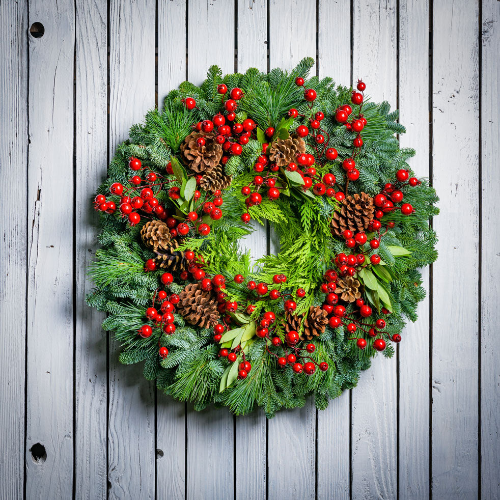 Wreath from Lynch Creek Farm