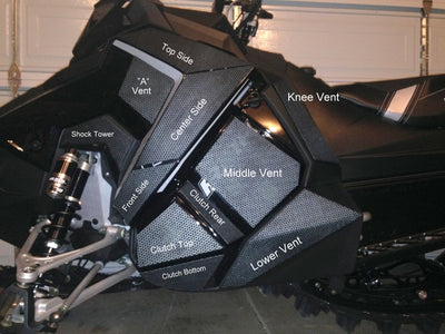 Polaris AXYS Individual Vents 2017-2020