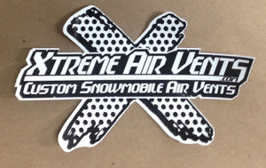 "Xtreme Air Vents Decals 5""x7"""