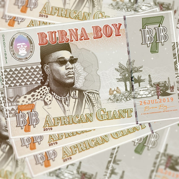 Burna Boy - African Giant LP
