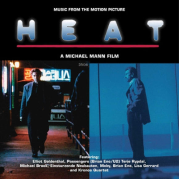 Heat - Music From The Motion P - Heat - Music From The Motion P LP