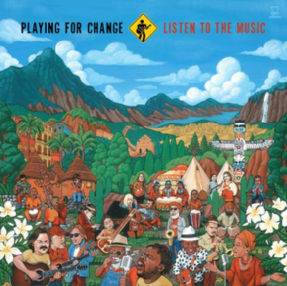 Playing For Change - Listen To The Music - LP