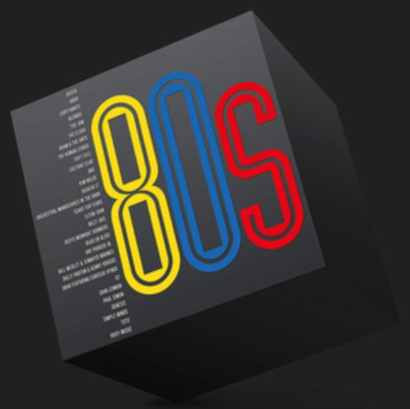 Various Artists - 80s - L.P. SET