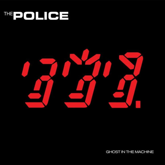 The Police - Ghost In The Machine - 12 INCH RECORD