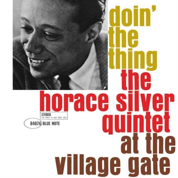 Horace Silver Quintet - Doin' The Thing - At The Village Gate - 12 INCH RECORD