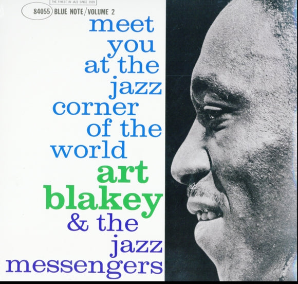 Art Blakey & The Jazz Messengers - Meet You At The Jazz Corner Of The World, Vol. 2 - 12 INCH RECORD