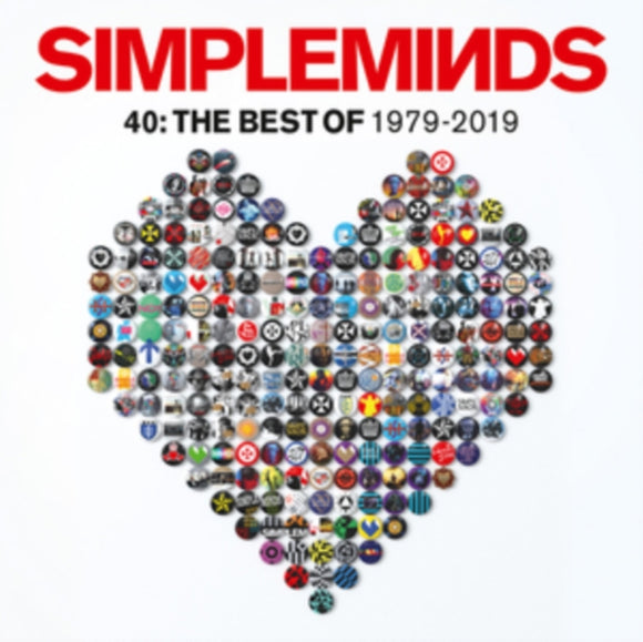 Simple Minds - Forty: The Best Of Simple Minds 1979-2019 LP