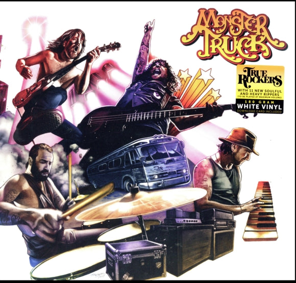 Monster Truck - True Rockers - LP VINYL