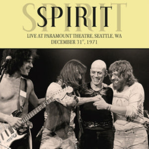Spirit - Live At Paramount Theatre, Seattle, Wa, December 31st, 1971 - LP