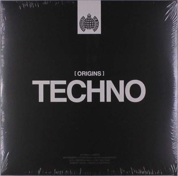Various - Origins Of Techno - Ministry Of Sound LP