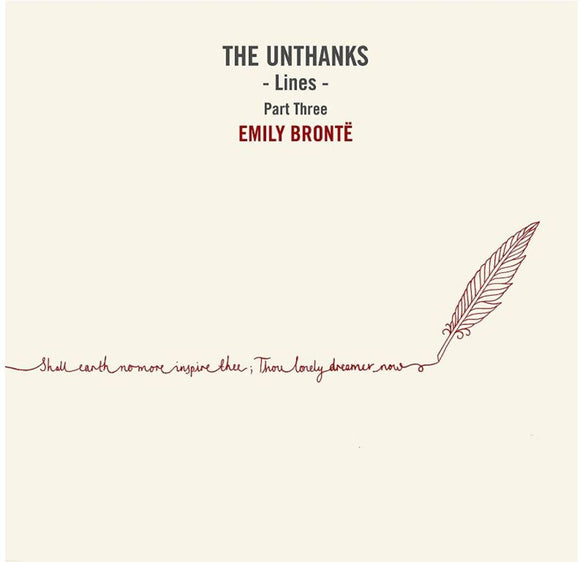 Unthanks, The - Lines - Part Three: Emily Bronte (10 Inch Lp) - 10