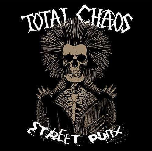 Total Chaos - Street Punx (vinyl+cd+poster+sticker) NEW 7
