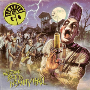 Demented Are Go - Welcome Back To Insanity Hall - LP