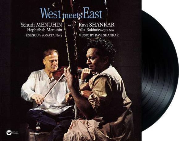 Yehudi Menuhin/ravi Shankar - West Meets East LP