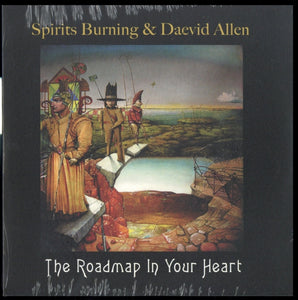 Spirits Burning & Daevid Allen - The Roadmap In Your Heart (rsd) NEW 7""