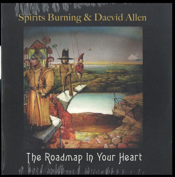 Spirits Burning & Daevid Allen - The Roadmap In Your Heart (rsd) NEW 7