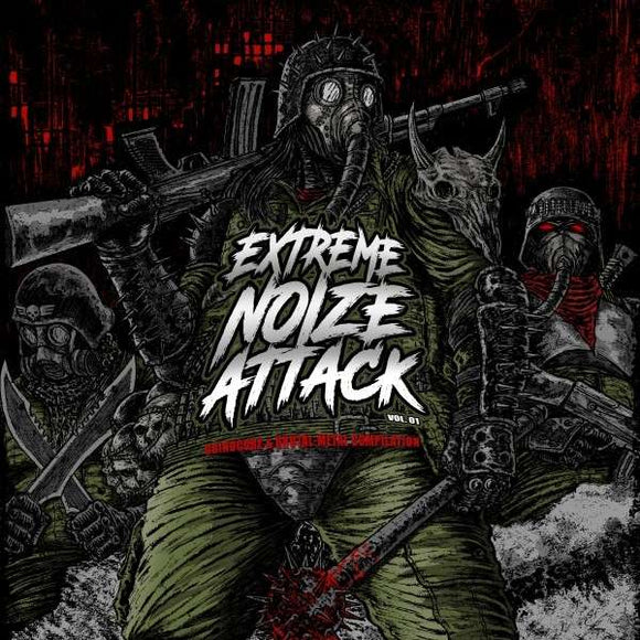 Various Artists - Extreme Noize Attack Vol.1 - LP