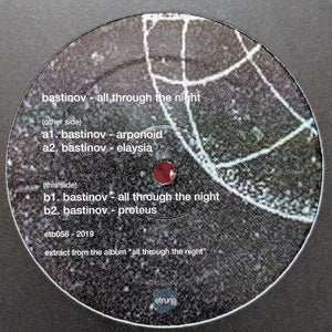 Bastinov ‎– All Through The Night - 12""