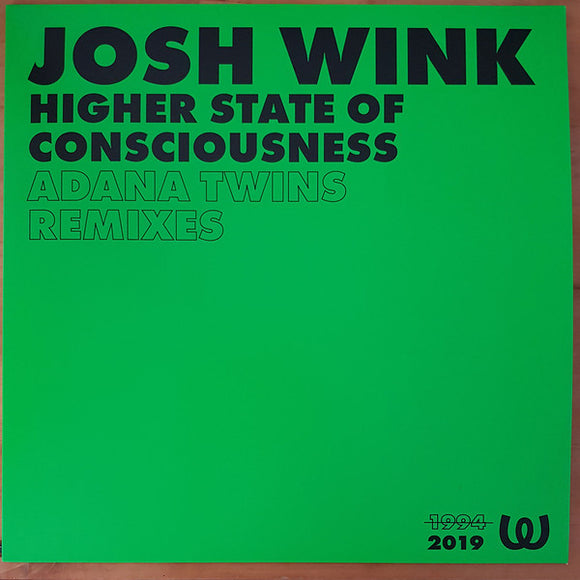Josh Wink - Higher State Of Consciousness (Adana Twins Remixes) 12