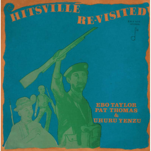 Taylor Ebo/pat Thomas & Uhuru - Hitsville Re-visited LP