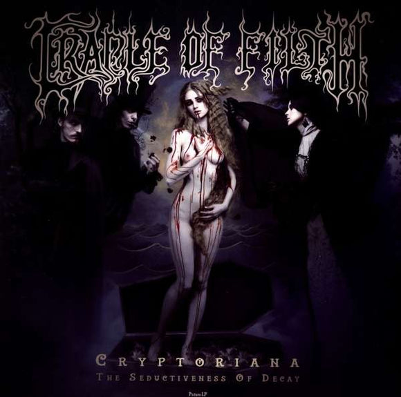 Cradle Of Filth - Cryptoriana - The Seductivenes - LP VINYL