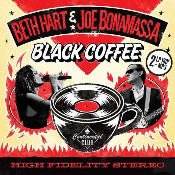 Beth Hart & Joe Bonamassa - Black Coffee - LP VINYL