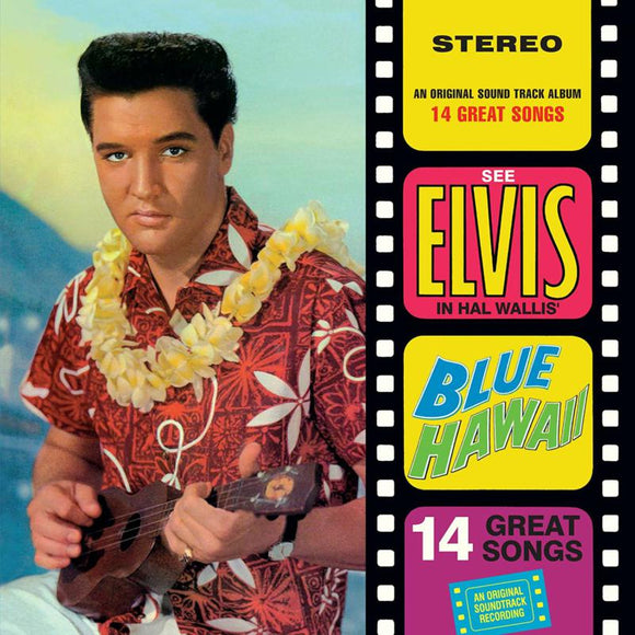Presley Elvis - Blue Hawaii (blue Vinyl) LP