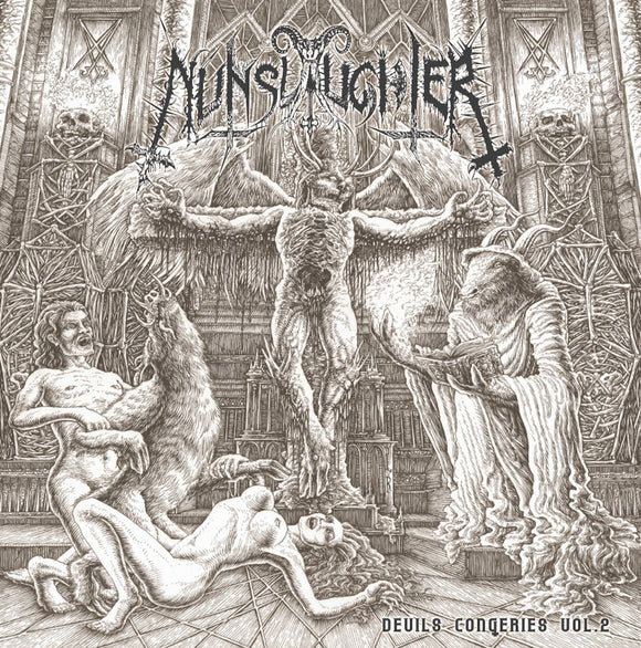 Nunslaughter - The Devil's Congeries – Volume 2 (2lp) (black Vinyl) - DLP