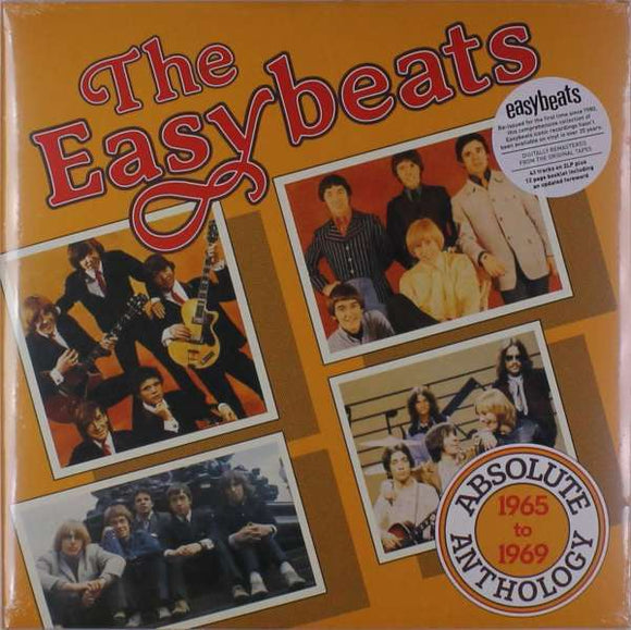 The Easybeats - Absolute Anthology 1965 - 1969 LP
