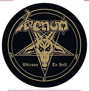 "Venom - Welcome To Hell NEW 12"" Picture Disc"