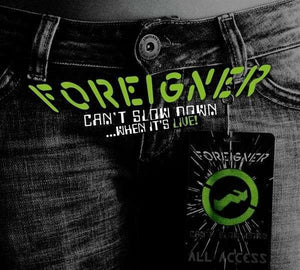 Foreigner - Can't Slow Down (live) LP
