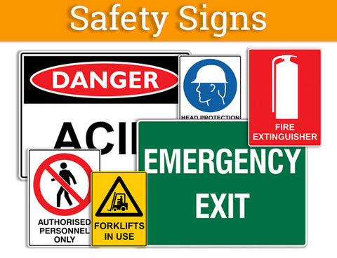 Australian Standard Safety Signs