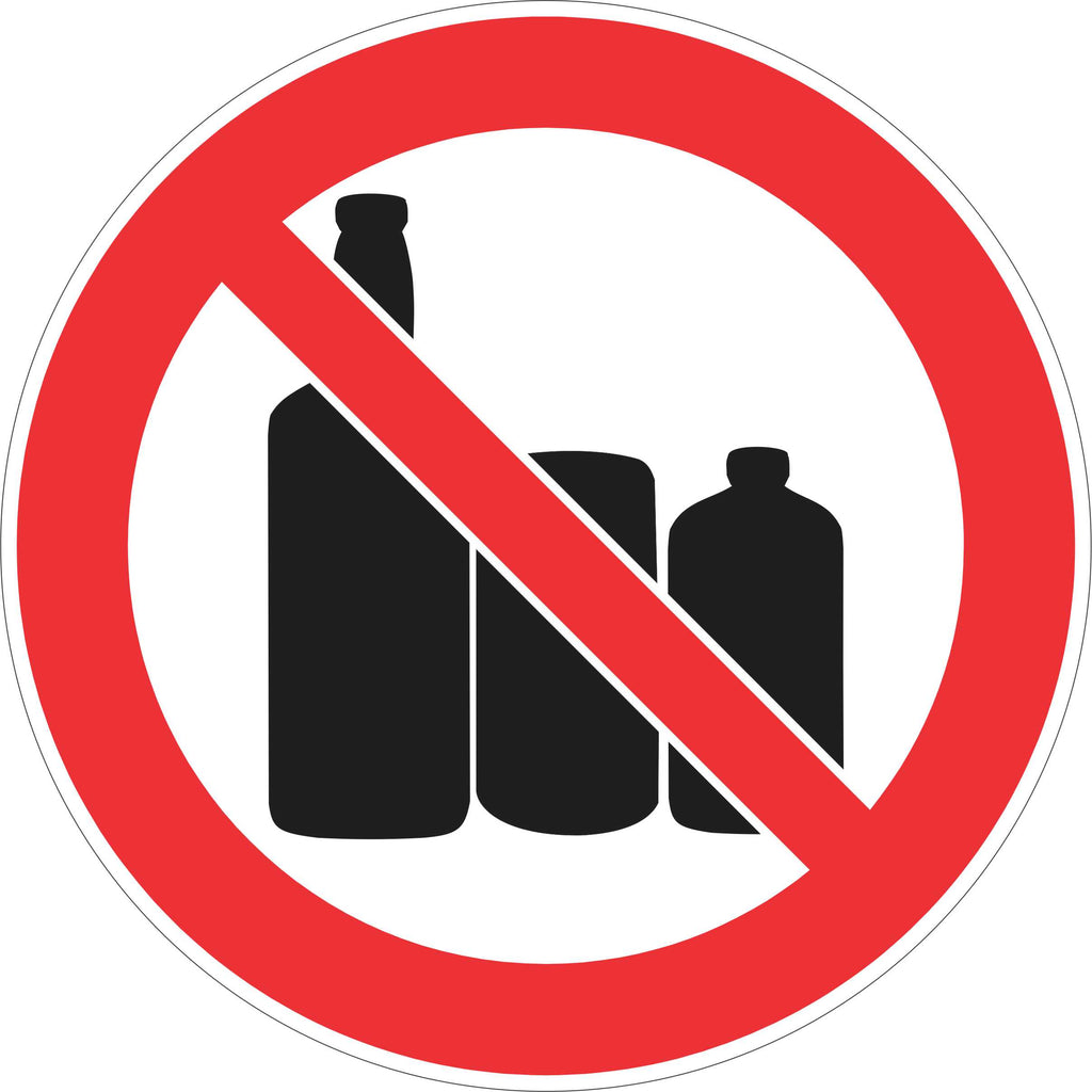 Prohibition Sign - No Alcohol