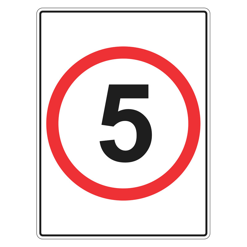 Speed Limit Sign - 5km