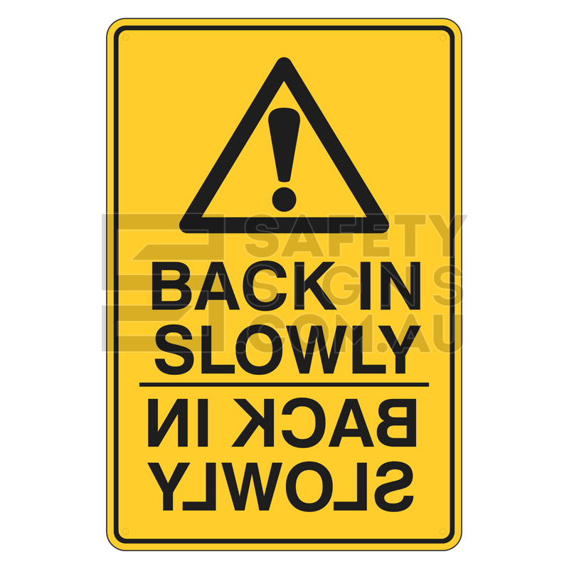 Warning Sign - Back In Slowly