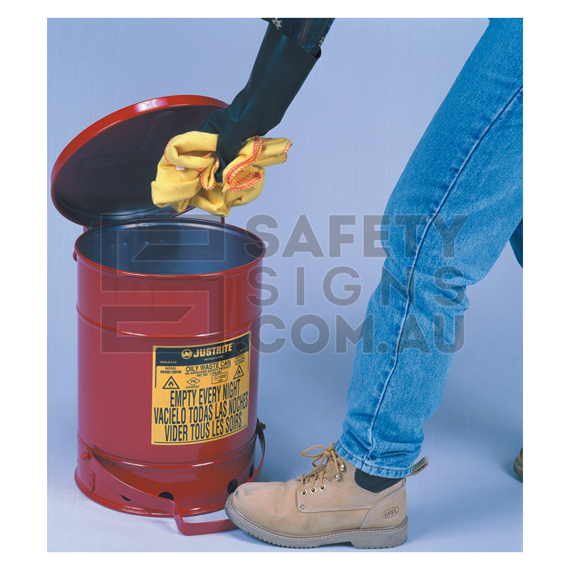 Dangerous Goods Waste Can (Foot Operated)